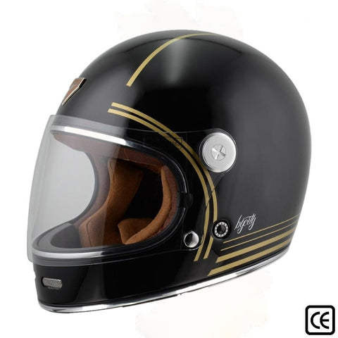 Capacete integral ByCity ROADSTER Gold Black
