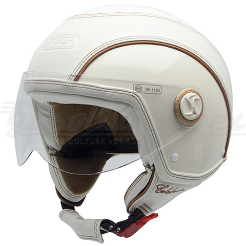 Capacete NZI aberto CELEBRITIES CREAM
