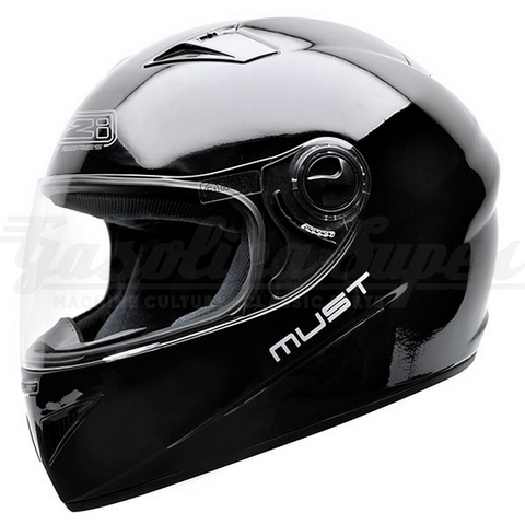 Capacete NZI integral MUST II BLACK