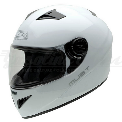 Capacete NZI integral MUST II WHITE