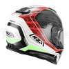 Capacete NZI integral SYMBIO DUO DART RED GREEN