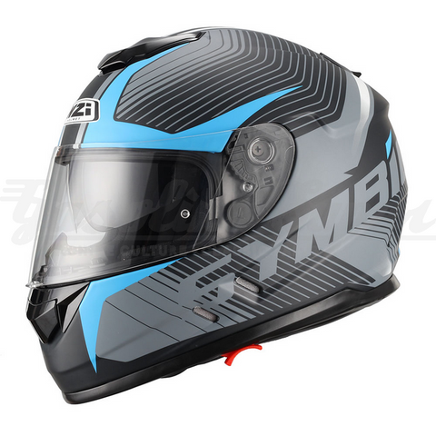 Capacete NZI integral SYMBIO DUO TERA BLACK BLUE