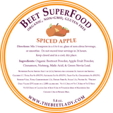 The Beet Lady Spiced Apple Beet Superfood