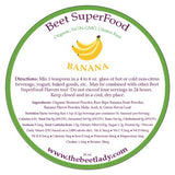 (BANANA) Beet SuperFood - Liver Cleanse, Improves Mood, Muscle Spasms, Kidney Stones, Cholesterol, Ulcers, Aids Digestion, Natural AntAcid, Energy Promoting, Heart Health and Blood Pressure Lowering