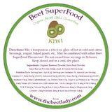 (KIWI) Beet SuperFood - Sleep, Eye Health, Weight, Digestion, Energy, Immunity, Heart, Bone Health, Respiratory, Cholesterol Lowering, Tissue Repair.