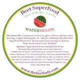 (WATERMELON) Beet SuperFood - Liver, Bile, Weight Loss, Constipation, Eye Health,  Faster Workout Recovery, Anti-Inflammatory, Heart Health, Bone Health, Relieves Muscle Soreness, Kidney Health, Cancer Prevention