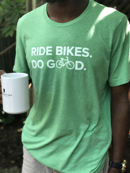 RIDE BIKES. DO GOOD. T-Shirt