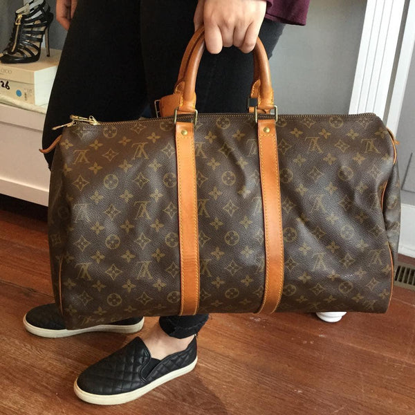 Louis Vuitton Monogram Canvas Keep All 45