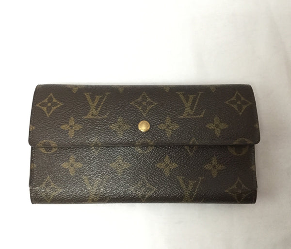 Louis Vuitton Tri-Fold Long Wallet