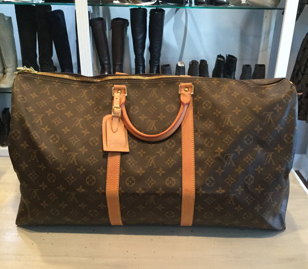 Louis Vuitton Monogram Canvas Keep All 60