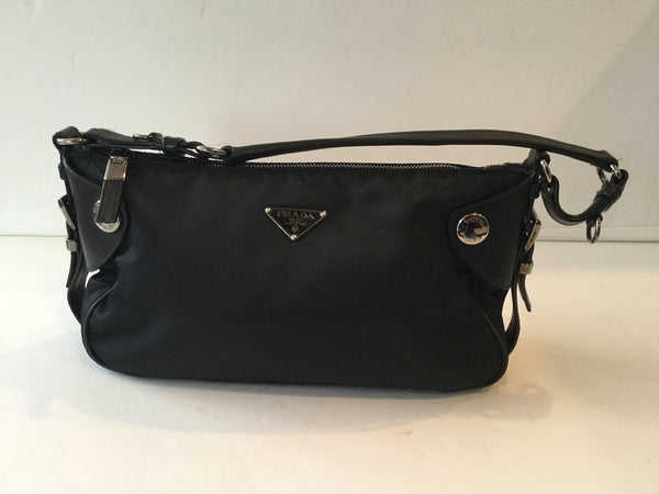 Prada Nylon Black Small Shoulder Bag