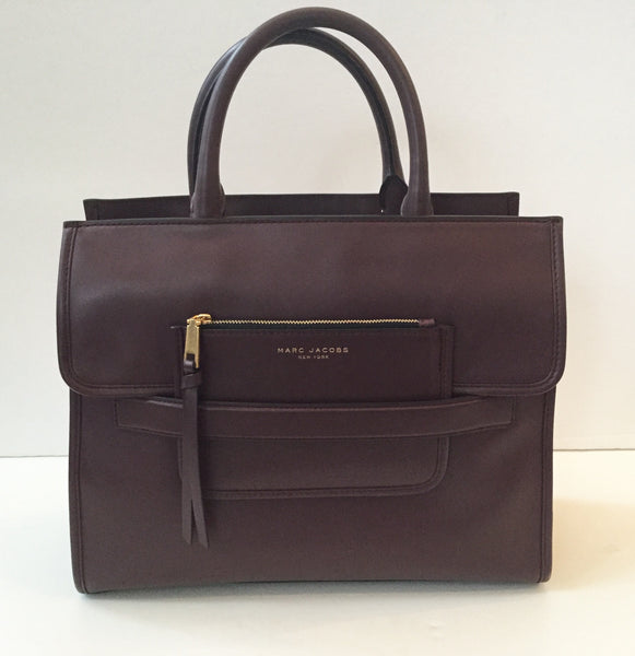 Marc Jacobs Madison North/ South Tote in Rubino w/ Strap