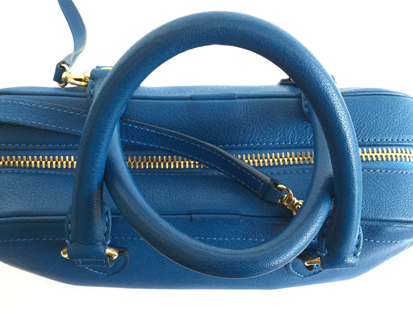 Marc Jacobs Venetia Satchel in Peacock Blue