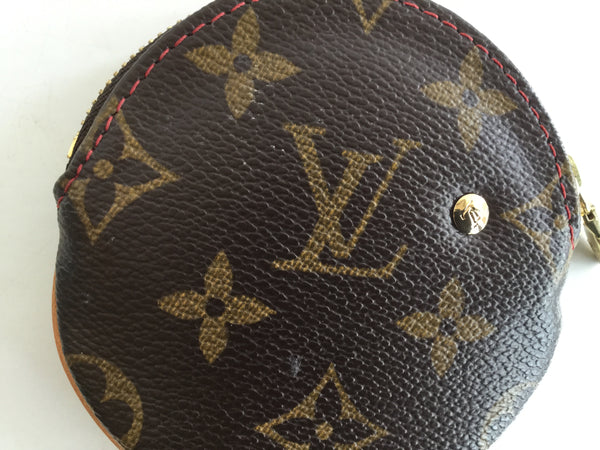 Louis Vuitton Monogram Canvas Cherry Cherise Round Coin Purse