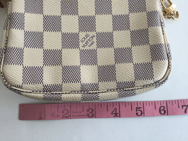 Louis Vuitton Damier Azur Canvas Mini Pochette