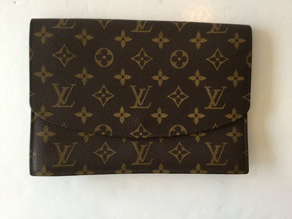 Louis Vuitton Monogram Canvas Vintage Rabat Clutch