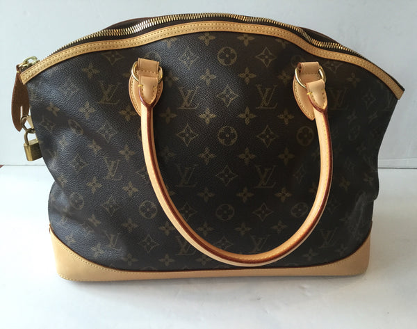 Louis Vuitton Monogram Canvas Horiztonal Lockit Shoulder Bag