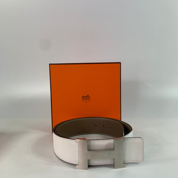 Hermés 1 Reversible Belt Strap and 1 buckle