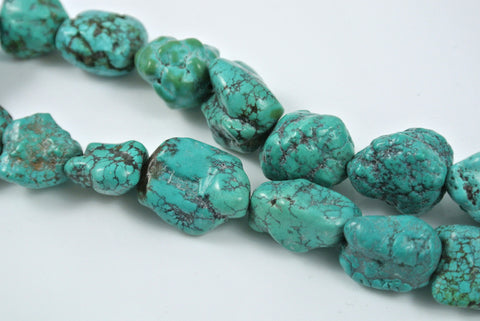 Turquoise Nugget 18-25mm