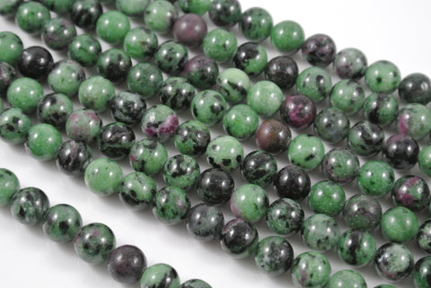 Ruby Zoisite Round 8mm