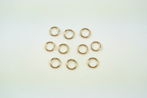 Gold-Filled Jumpring Open Round 5mm 22g 10 Pieces