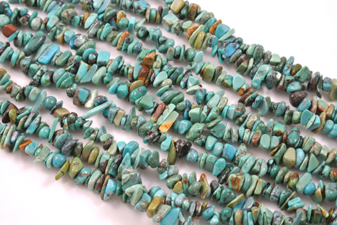 Turquoise Chips 5-10mm