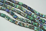 Abalone Rectangle 10x14mm