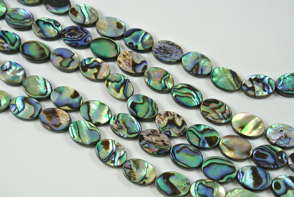 Abalone Oval 10x14mm