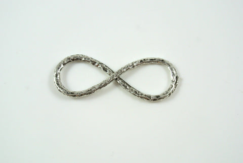 Infinity Symbol Pendant Silver 14x37mm