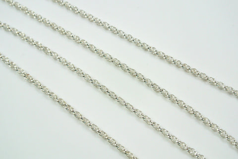 Chain Spiral Rope Silver 1.6mm