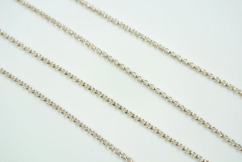 Chain Mini Rolo Silver 1.2mm