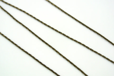 Chain Beading Rope Antique Brass 0.7mm