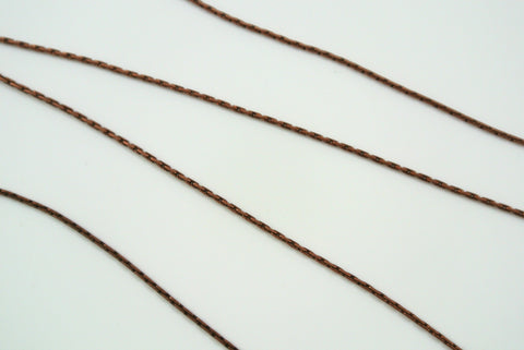 Chain Beading Rope Antique Copper 0.7mm