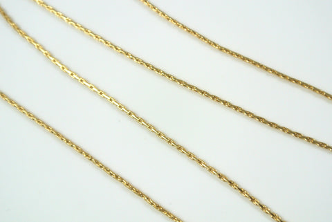 Chain Beading Rope Gold 0.7mm