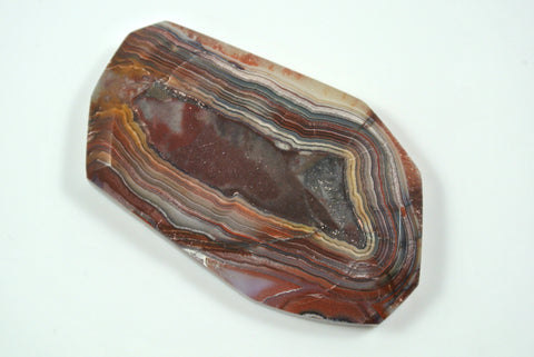 Cabochon Mexican Crazy Lace Agate 38x62mm