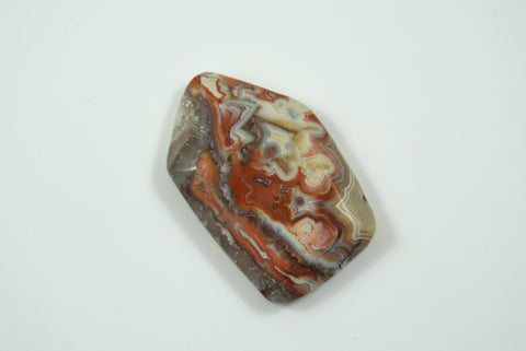 Cabochon Mexican Crazy Lace Agate 24x39mm