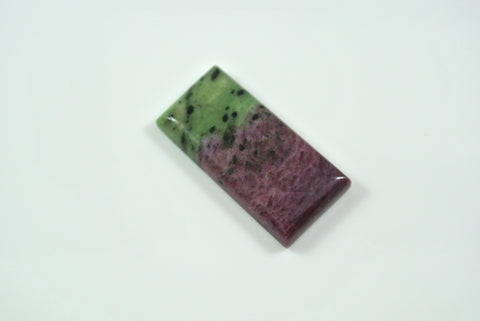 Cabochon Ruby in Zoisite 9.5x30mm