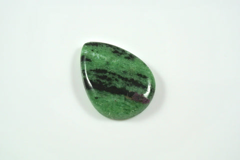 Cabochon Ruby in Zoisite 20x27mm