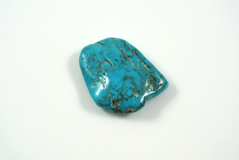 Cabochon American Turquoise Nugget 21x25mm