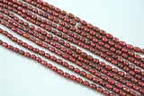 Freshwater Pearl Dark Red Cranberry Rice 4-5mm
