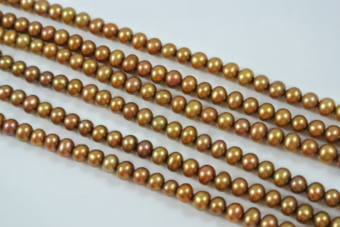 Freshwater Pearl Bronze Potato 4-4.5mm