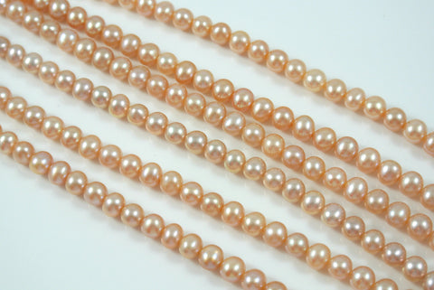 Freshwater Pearl Pink Champagne Potato 5-5.5mm
