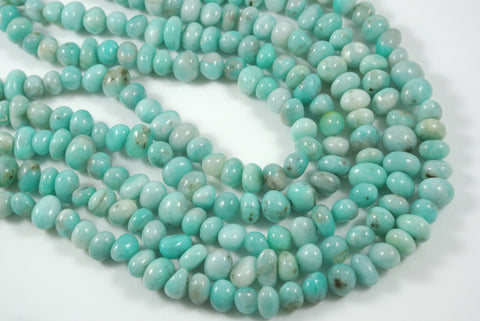 Amazonite Freeform Tumbled Nugget 8-14mm