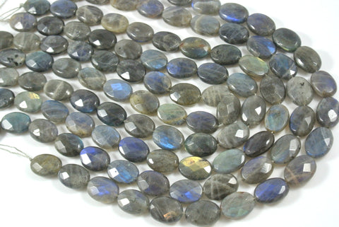 Labradorite Faceted Oval 13x18mm