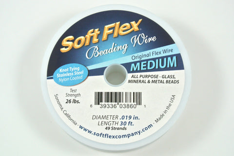 Soft Flex Medium Stainless Steel 0.019 30 Feet
