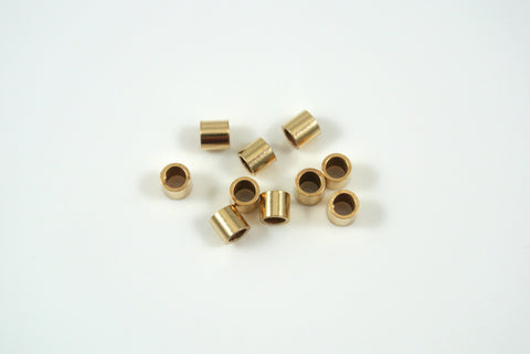 Gold-Filled Crimp Tube Bead 3x3mm 10 Pieces