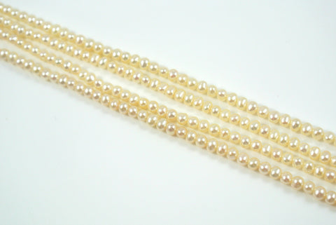 Freshwater Pearl Off White Potato 4-4.5mm