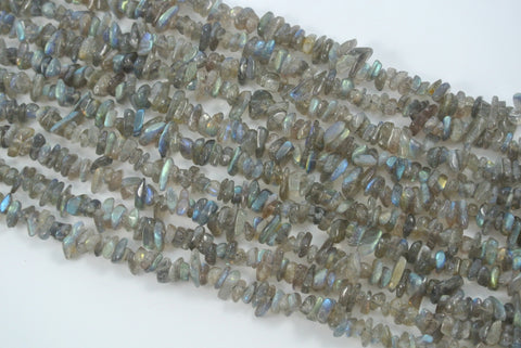 Labradorite Tumbled Chips 4-9mm