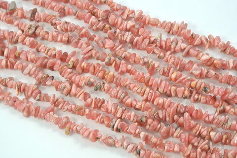 Rhodochrosite Tumbled Chips 4-9mm