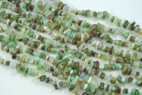 Chrysoprase Tumbled Chips 4-9mm